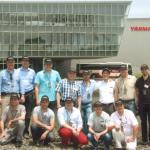 2013 Visite de Yanmar Japon, challenge 100 ans de Yanmar, Buloc
