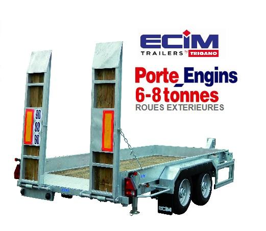 ECIM porte engins FR - à 8 to