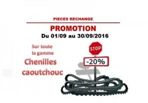 2016.09 Yanmar Chenilles -20%
