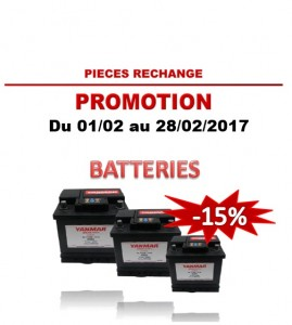 2017.02 Yanmar Batteries -15%