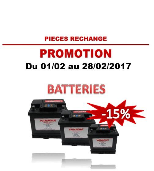 2017.02 Yanmar Batteries -15%